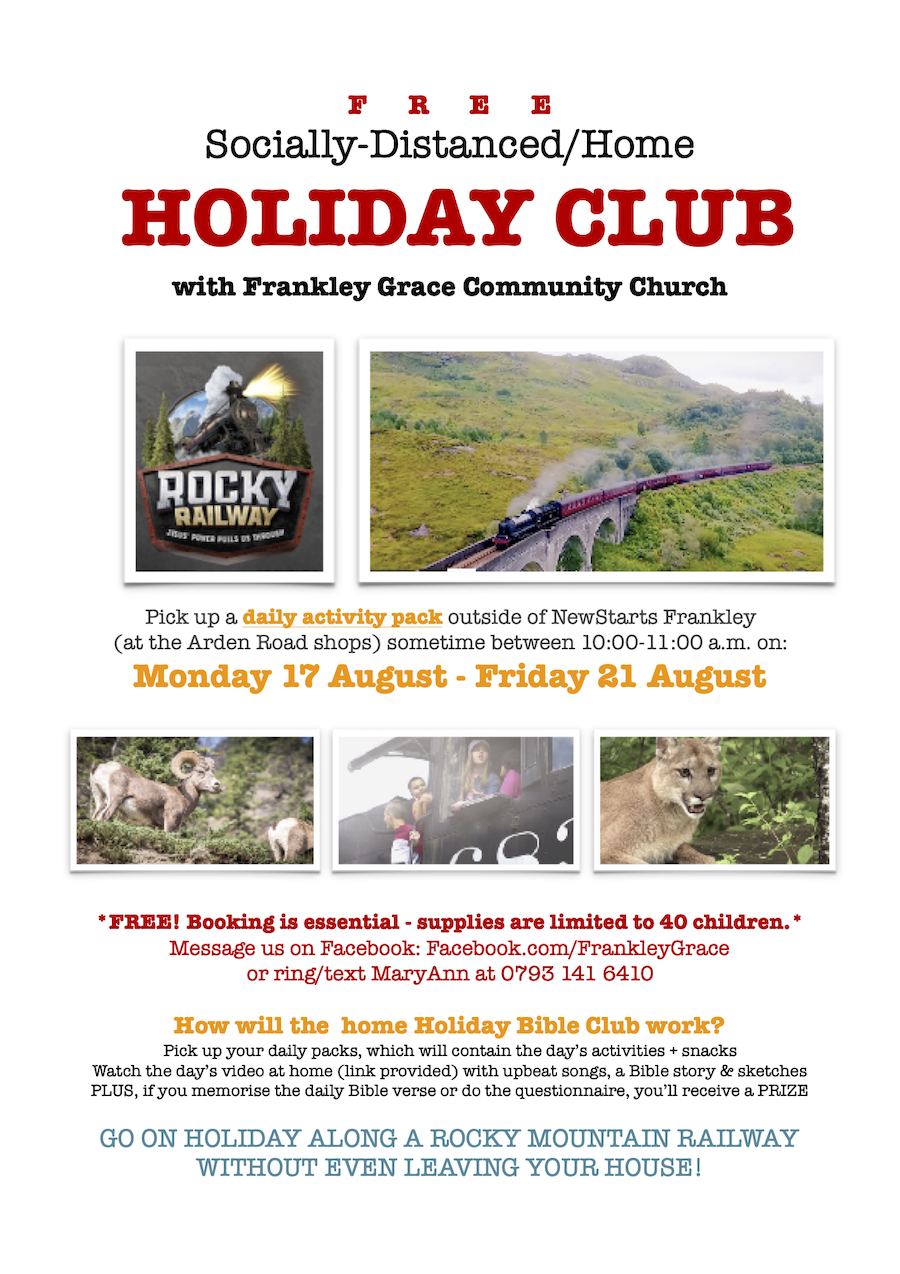 Holiday Club 2020 poster