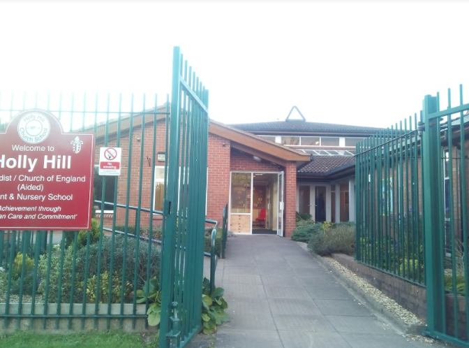 Holly Hill School entrance